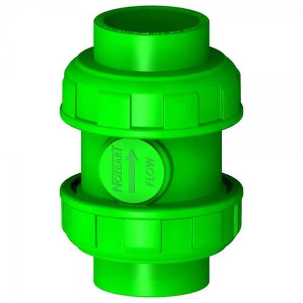 110-mm-Yeşil-Dört-Ayaklı-Yaylı-Çekvalf-(1-Tar.Dişli)